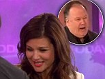 Awkward! Saved By The Bell's 'Mr Belding' Dennis Haskins crashes Tiffani Thiessen's TV appearance for a surprise reunion