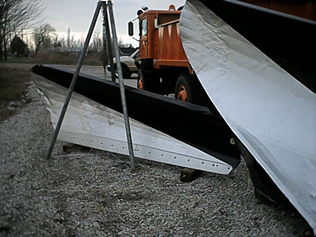 vee-plow and wing mounting system