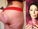 'I freaked out': Victim of botched butt surgery speaks for first time about moment her implants 'flipped inside out' leaving her with unsightly bulges