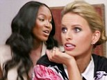 'It's game on from now on': Naomi Campbell lashes out at Karolina Kurkova for sending home her contestant as The Face premieres