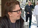 Gary Oldman steps out for lunch at Villa Blanca in Beverly Hills