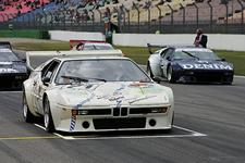 BMW M1 Procar demonstration.