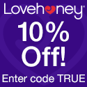 Save 10% at Lovehoney with True Pleasures