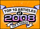 Top 10 Articles of 2008