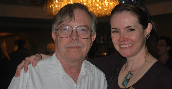 Ken Marks and Laura Fay