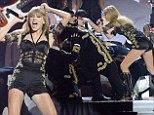 Taylor Swift has a bad girl makeover as she puts on sexy Brits performance of I Knew You Were A Trouble