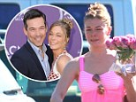 'I'm not pregnant!': LeAnn Rimes denies reports she is expecting her first child with Eddie Cibrian after debuting healthier figure