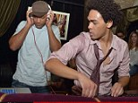 Trey Smith and Will Smith get on the decks