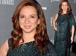Maya Rudolph attends the 15th Annual Costume Designers Guild Awards with presenting sponsor Lacoste at The Beverly Hilton Hotel