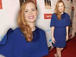 Luckily you still have acting: Jessica Chastain steps out in a high fashion look that misses the mark in Los Angeles