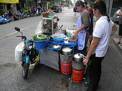"""Hawker selling Thai Soup Soi 22 Sukumvit • <a style=""""font-size:0.8em;"""" href=""""http://www.flickr.com/photos/49887071@N04/5816521553/"""" target=""""_blank"""">View on Flickr</a>"""