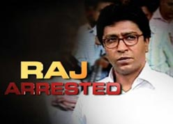 RAGE OVER RAJ: MNS supporters resorted to stone-pelting at police vehicles outside the Bandra court.