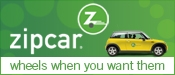 Sponsored by Zipcar - Wheels When You Want Them