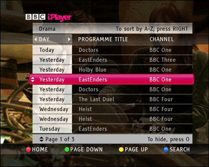 tv iplayer
