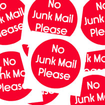 Red Dot Campaign aims to reduce waste by refusing junk mail.