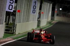 Felipe Massa in Singapore