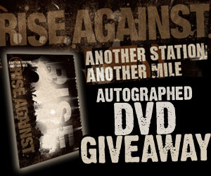 Rise Against Giveaway end 10.30