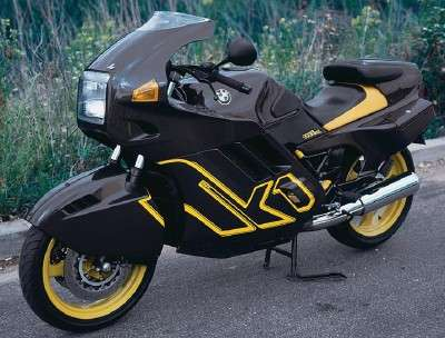 1990 BMW K-1 motorcycle side view
