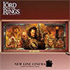 Lord Of The Rings Stained Glass Illuminated Wall Decor Art - Exclusive The Lord of the Rings™ Collectible Lighted Stained Glass Art Fills Your Home with the Magic of Middle Earth!