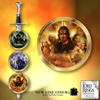 The Lord Of The Rings Collector Plate Collection - The Lord of the Rings? Collector Plates with a Sword of Aragorn Display! Relive the Amazing Adventure!