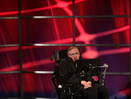 Renowned physicist Professor Stephen Hawking speaks Sunday during a lecture at the Perimeter Institute for Theoretical Physics in Waterloo, where he recently became the institute's Distinguished Research Chair.
