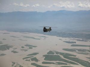 U.S. Army assits Pakistan in flood relief efforts