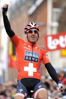 Fabian Cancellara (Saxo Bank) strikes again
