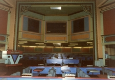 Proscenium at the former Grand Theatre, Doncaster, 1995