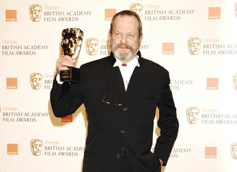 Terry Gilliam won Academy Fellowship at the Orange British Academy Film Awards in 2009