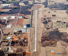 Aerial photo of KUNO (West Plains Municipal Airport)