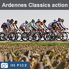 Amstel Gold Race and La Flèche Wallonne, best of the action from the Ardennes Classics in pictures
