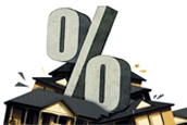 House finance hit by rising rates
