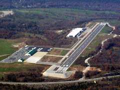 Aerial photo of KPLK (M. Graham Clark - Taney County Airport)