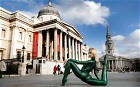 Meet Zlata - the world's most flexible woman. Pictured here on the streets of London, the contortionist drew crowds in the UK capital displaying her wiry skills. The Russian national has been performing her contortionist act for 10 years wowing the public with her eye-watering positions.