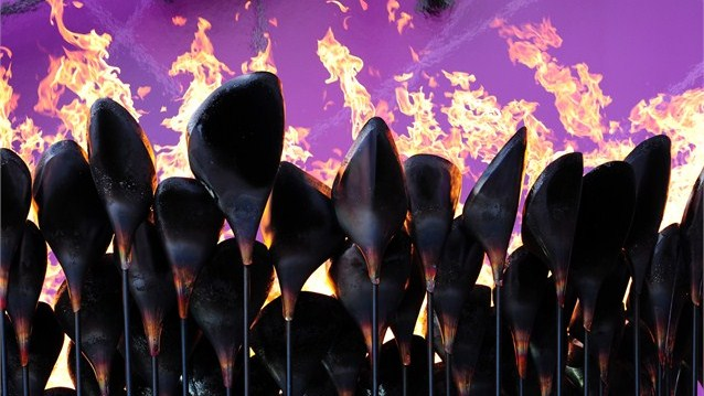 Olympic and Paralympic cauldron 'petals' sent as gifts to competing nations