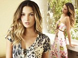 'I try to live life to the fullest:' So says Lily Aldridge as she introduces new Velvet by Graham & Spencer campaign