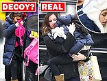 And while Michael Jackson, Marilyn Monroe and Adolf Hitler all had at least one, the latest celebrity to apparently get her own body double was revealed today - as six-year-old Suri Cruise.