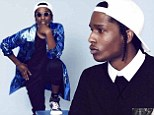 'Rappers wear diamonds to compensate for a lack of fashion sense': A$AP Rocky shows off his crisp style in shoot with Mr Porter