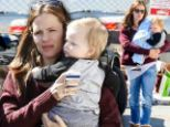 Award winning mother! Jennifer Garner took two of her children to the toy store after the Oscars weekend