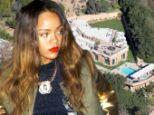 Close call: Rihanna filled a restraining order against a crazed-fan