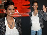 You could have made an effort! Halle Berry dresses down for a red carpet screening of her new film