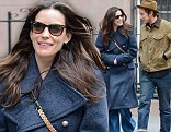 Liv Tyler with a mystery man in New York