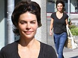 Fresh-faced and fancy free: Cosmetically-enhanced Lisa Rinna proudly shows off her line-free face as she heads out without make-up
