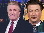 Watch out George Clooney... there's a new silver fox in town! Alec Baldwin embraces the grey after ditching his 30 Rock hair dye