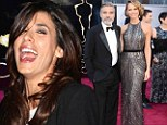Elisabetta Canalis dissed ex Clooney by backing Tarantino for the Best Picture Oscar... (but George still won)