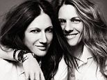 In love: J Crew creative director Jenna Lyons poses with girlfriend Courtney Crangi in the new issue of V Magazine