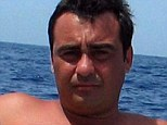 Killed: Paparazzo Daniele Lo Presti was found with a bullet in his head in a busy street in Rome