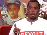 Confession time: Sean 'Diddy' Combs was a guest on The Ellen DeGeneres Show
