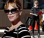Melanie Griffith goes shopping in Los Angeles