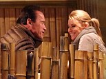Things going well then? Arnold Schwarzenegger spotted on second date with mystery blonde companion